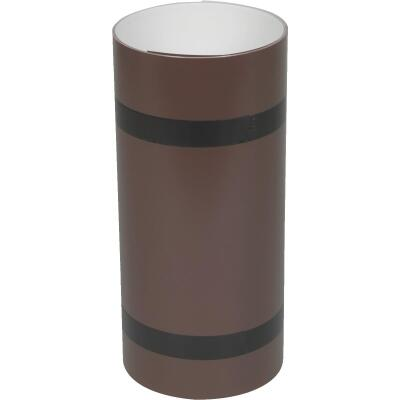 Amerimax 10 In. x 10 Ft. Brown Aluminum Roll Valley Flashing