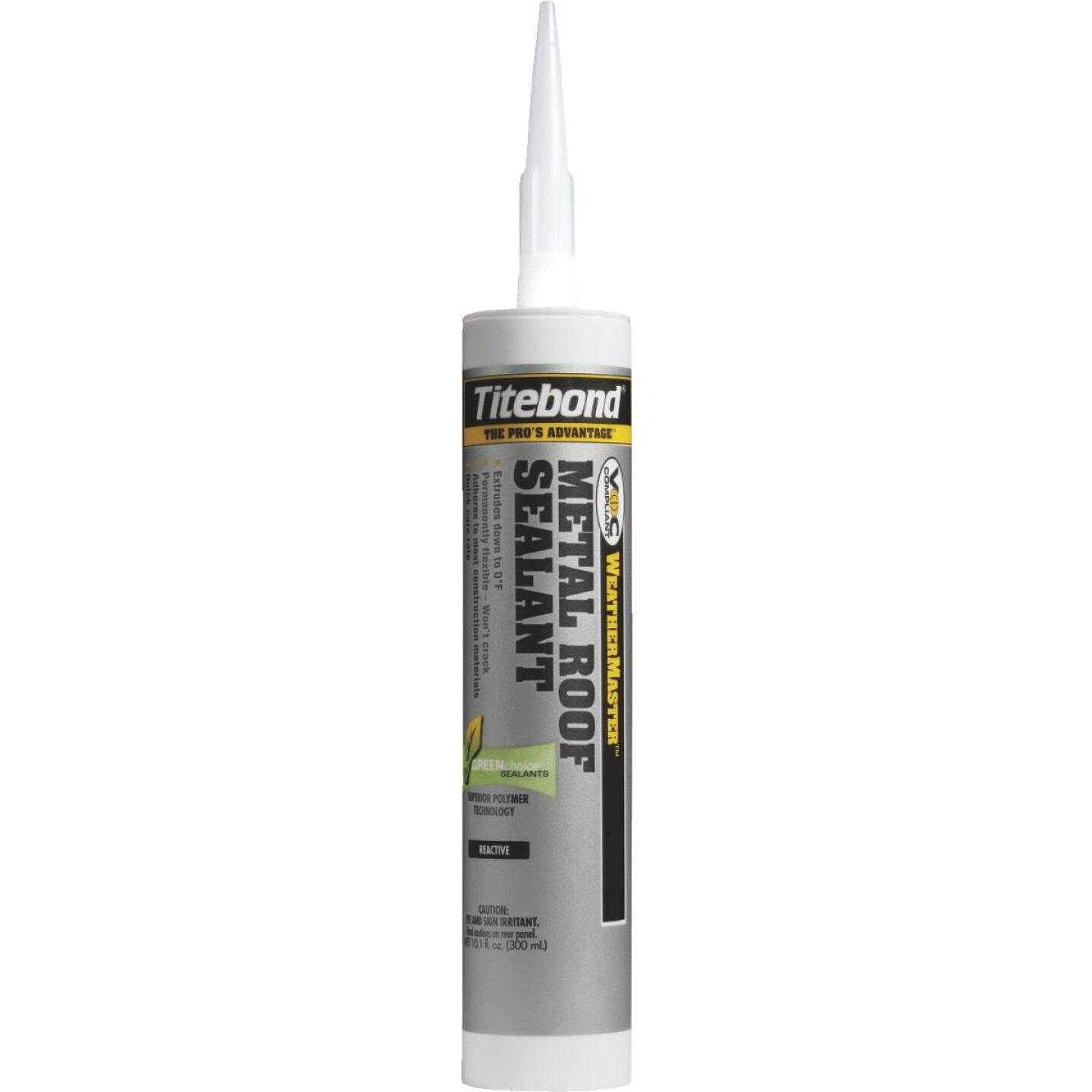 TiteBond Weathermaster 10 Oz. White Metal Roof Sealant Image 1