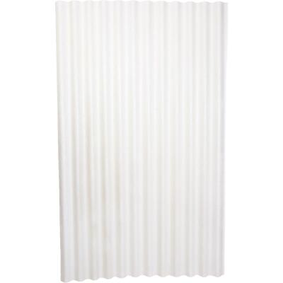 Ondura 48 In. x 6 Ft. Fiberglass Translucent White Ondura Corrugated Roofing Panels
