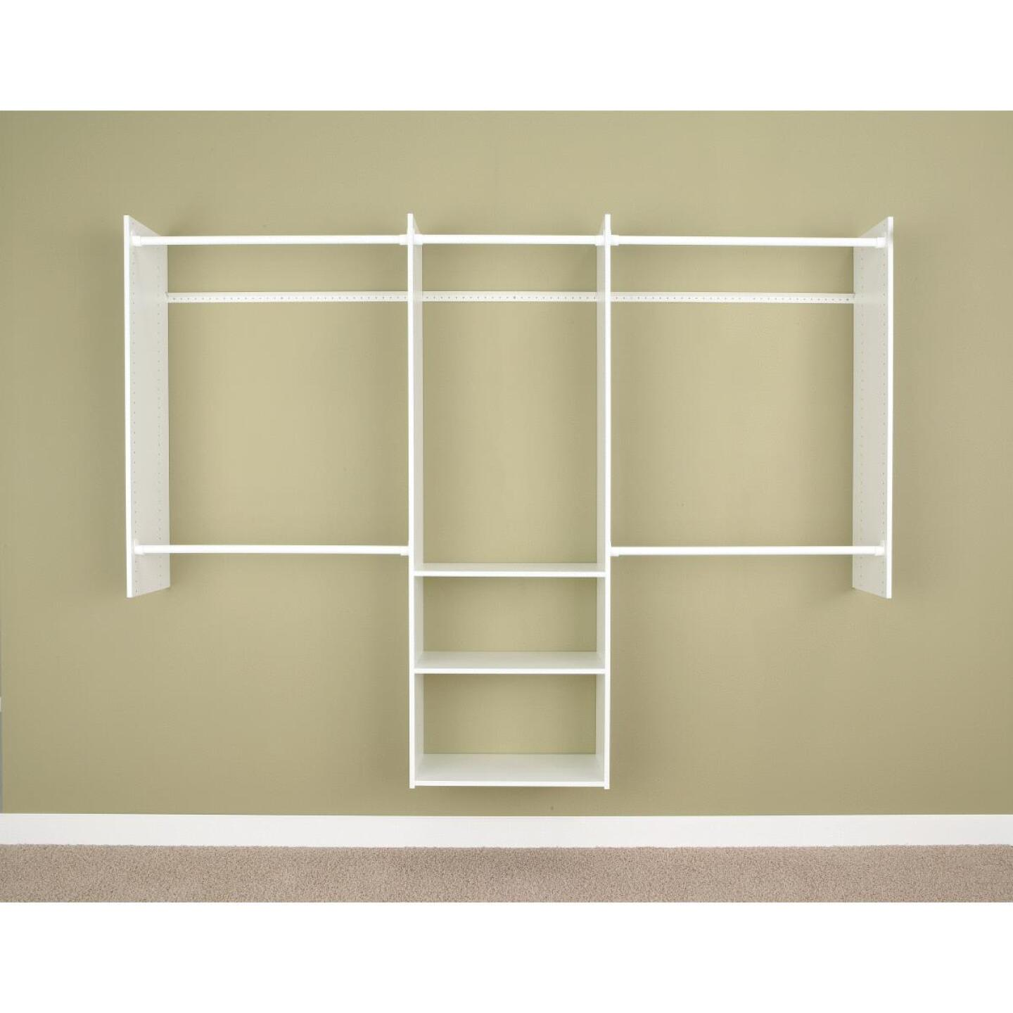 Easy Track Deluxe Starter Closet System Image 2