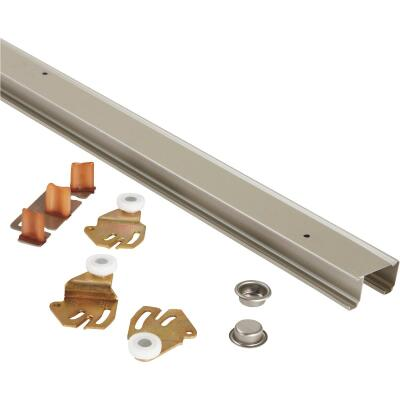 Johnson 60 In. Steel Bypass Door Hardware Set