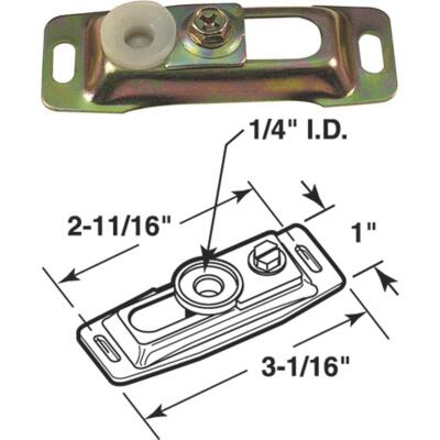 BI-FOLD DR FLOOR BRACKET