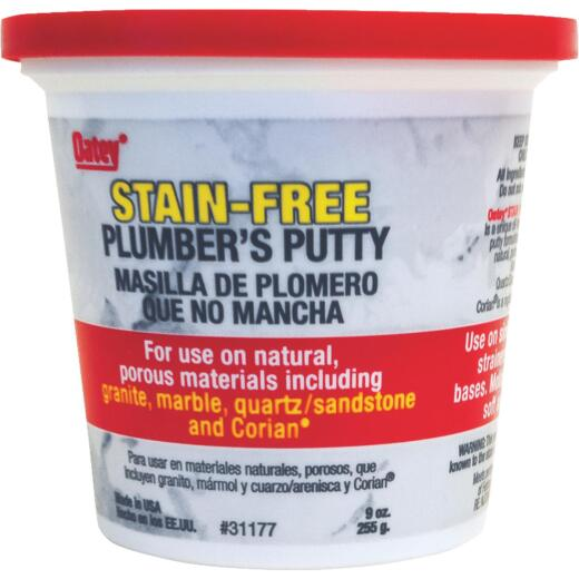 Oatey 9 Oz. Stain-Free Plumber's Putty for Natural Surfaces