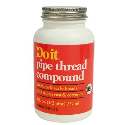Do it 8 Fl. Oz. Gray Pipe Compound