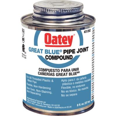 Oatey Great Blue 8 Fl. Oz. Blue Pipe Compound