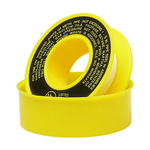 Do it 1/2 In. x 260 In. Yellow Thread Seal Gas Line Tape