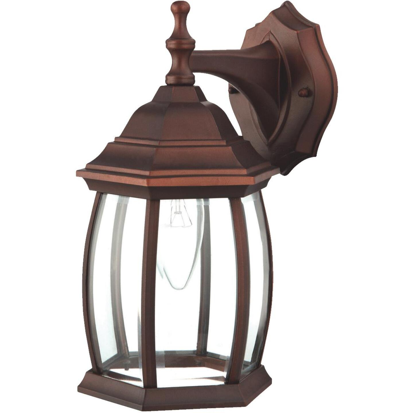Home Impressions Antique Copper Incandescent Type A Outdoor Wall Light Fixture Image 1