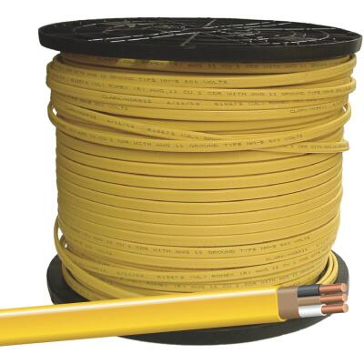 Romex 1000 Ft. 12-2 Solid Yellow NMW/G Wire