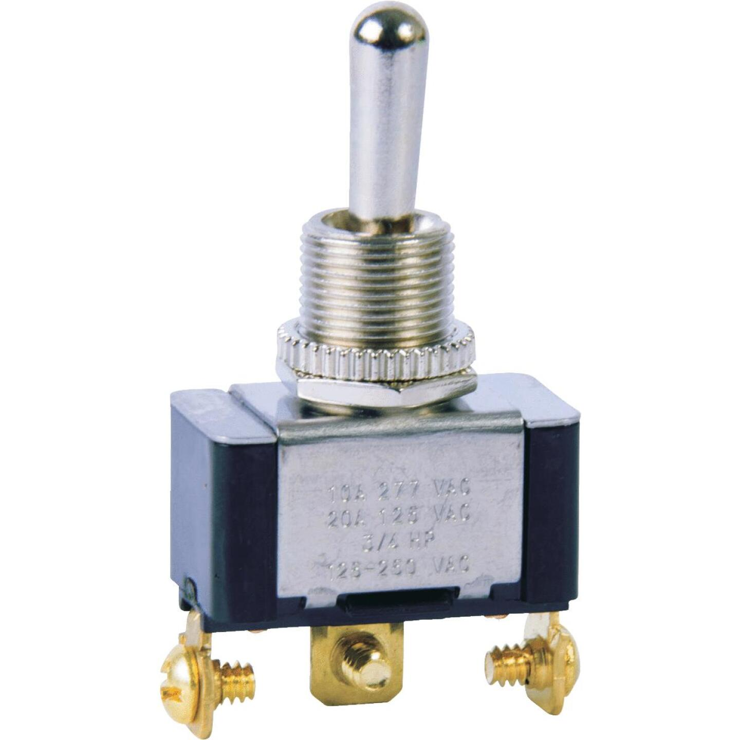 Gardner Bender Heavy-Duty SPDT 3-Screw Double ThrowToggle Switch Image 1