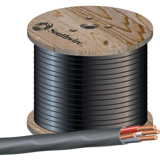 Romex 500 Ft. 6-3 Stranded Black NMW/G Wire