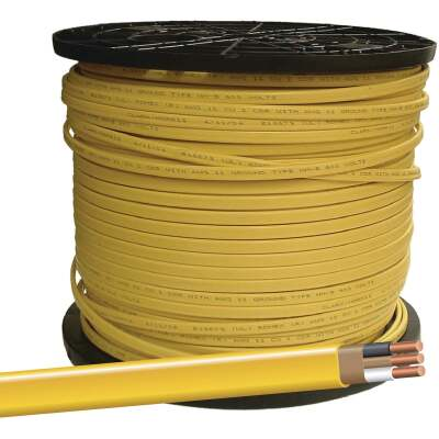 Romex 400 Ft. 12-2 Solid Yellow NMW/G Wire
