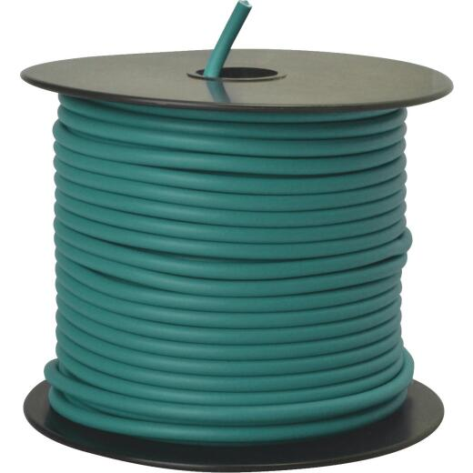 ROAD POWER 100 Ft. 12 Ga. PVC-Coated Primary Wire, Green