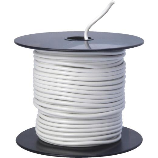 ROAD POWER 100 Ft. 14 Ga. PVC-Coated Primary Wire, White