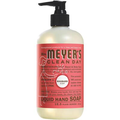 Mrs. Meyer's Clean Day 12.5 Oz. Rhubarb Liquid Hand Soap