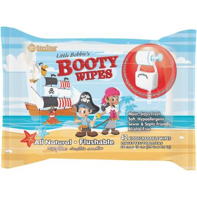 Sterling Little Bobby's Booty Wipes (42-Count)