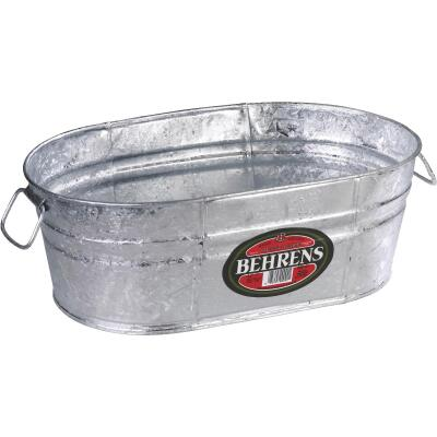 Behrens 16.25 Gal. Oval Round Hot-Dipped Utility Tub