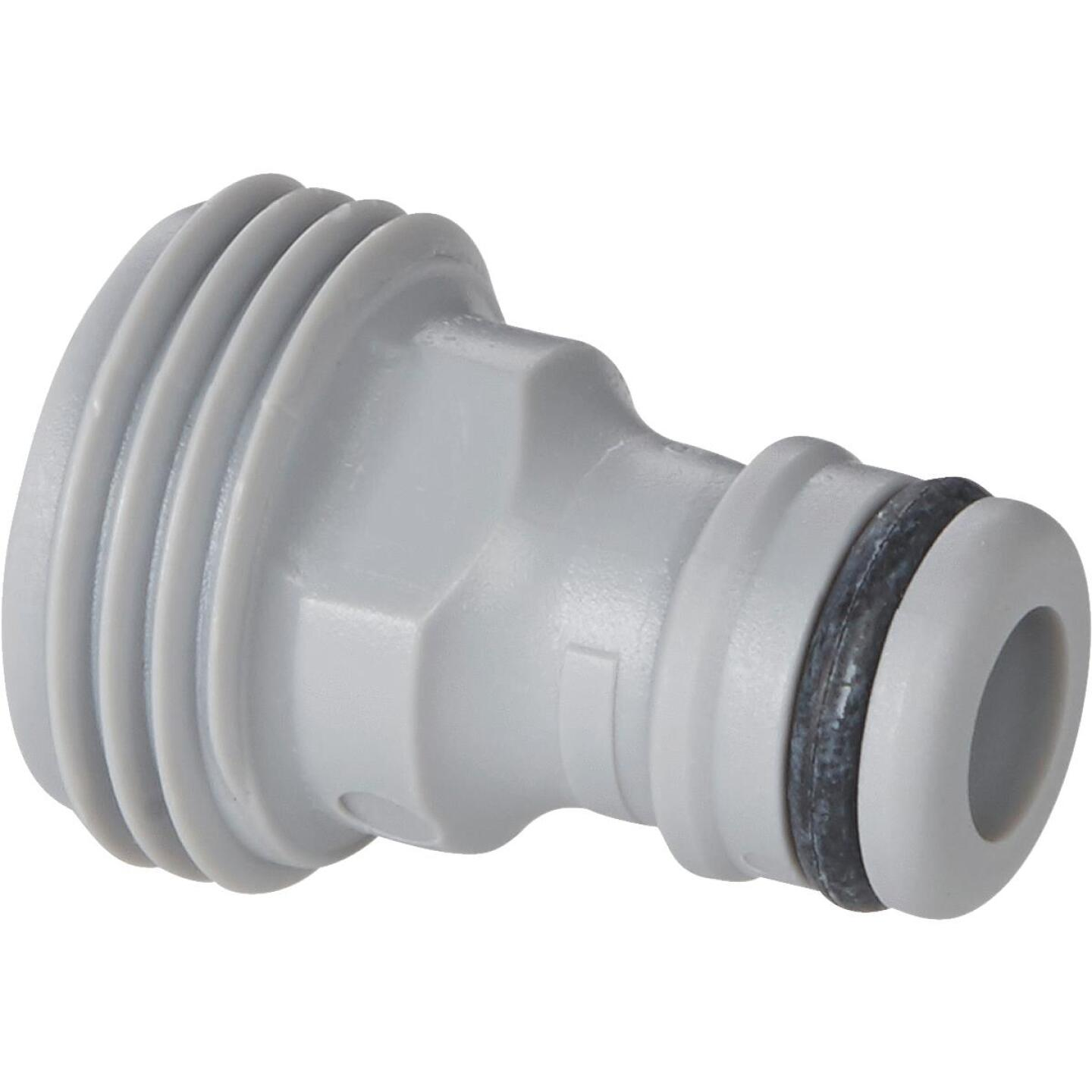 Gardena Classic Male Plastic Quick Connect Connector Accessory Adapter Image 1