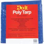 Do it Blue Woven 5 Ft. x 7 Ft. Medium Duty Poly Tarp Image 2