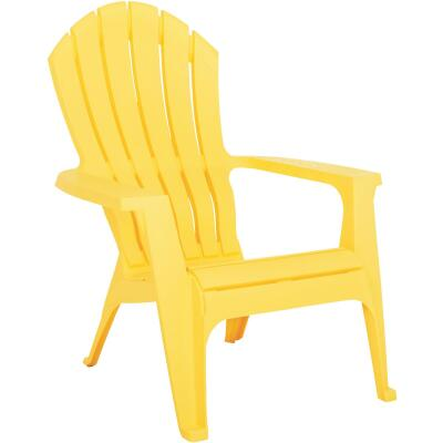 Adams RealComfort Yellow Resin Adirondack Chair