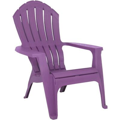 Adams RealComfort Violet Resin Adirondack Chair