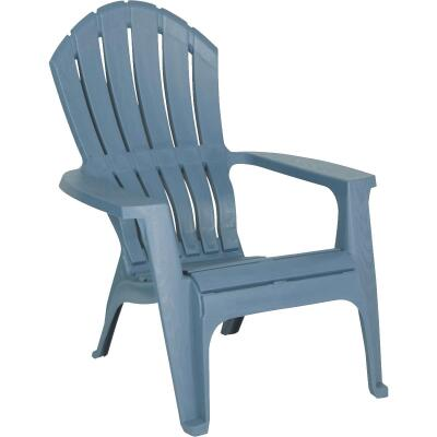 Adams RealComfort Bluestone Resin Adirondack Chair