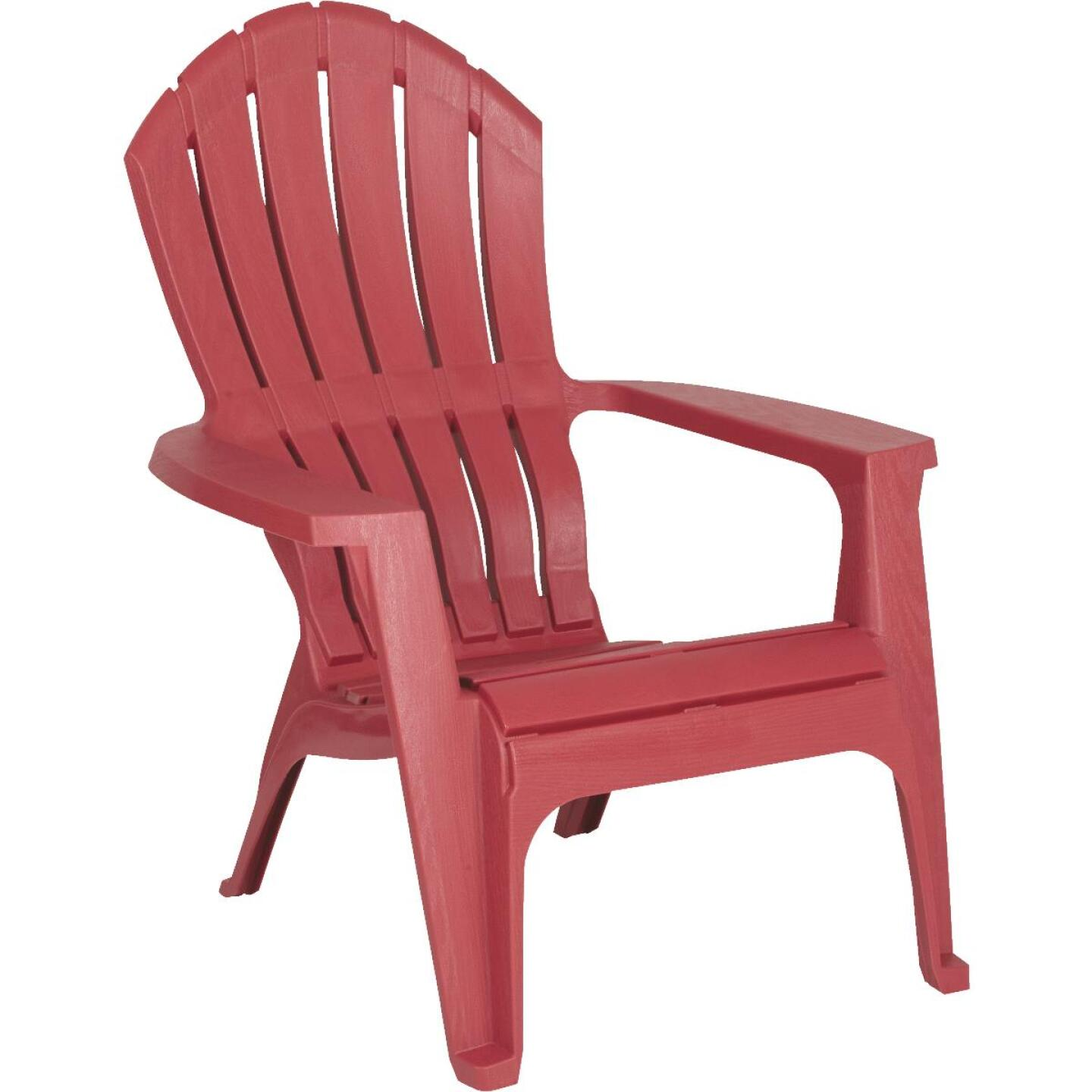 Adams RealComfort Merlot Resin Adirondack Chair Image 1
