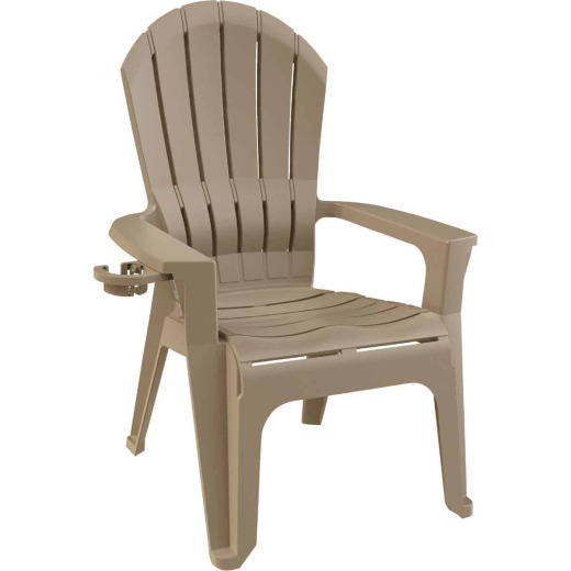 Adams Big Easy Portobello Resin Adirondack Chair