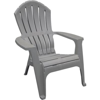 Adams RealComfort Gray Resin Adirondack Chair