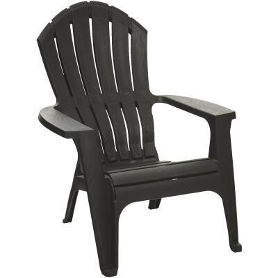 Adams RealComfort Black Resin Adirondack Chair