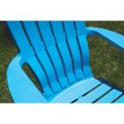 Adams RealComfort Pool Blue Resin Adirondack Chair Image 4