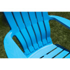 Adams RealComfort Pool Blue Resin Adirondack Chair Image 2