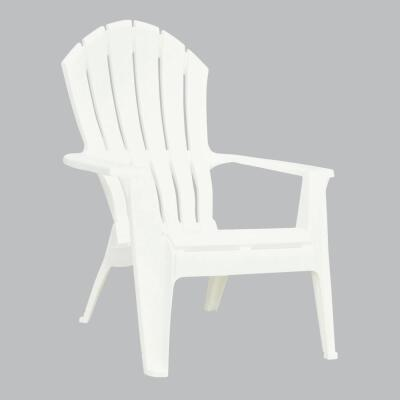 Adams RealComfort White Resin Adirondack Chair