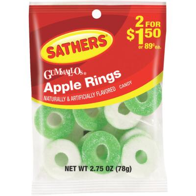 Sathers 2.75 Oz. Apple Rings